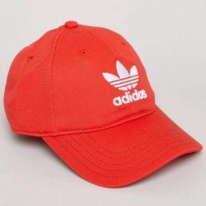 LAST ONE • Adidas Originals Red Trefoil Cap